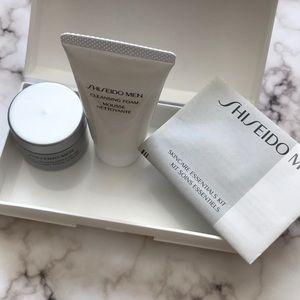 SHISEIDO Men Skincare -Cleansing Foam and cream